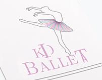 Kid Ballet - Identidad corporativa