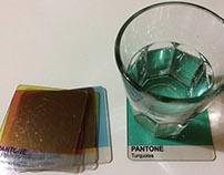 Posa vasos Pantone