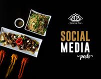 Pakora Hut - Social Media