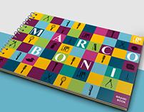 Logo Redesign, BrandBook e Visual Identity - Marco Boni