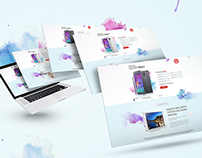 Landing Page For Samsung Galaxy Note 4