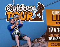 Publicidad Tours Outdoor Sonora