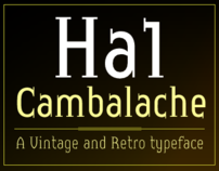 Cambalache Typeface