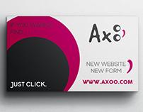 Logotipo Axoo