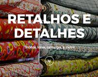 Retalhos e Detalhes / Website