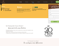 Landing Page Novos Franqueados Cacau Show (Wordpress)
