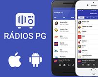Aplicativo Rádios PG