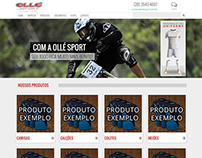 Website Ollé Sport