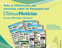 Promoción del diario Últimas Noticias