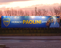 Campaña Horacio Paolini 2015
