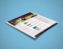 Diseño Web Departamento Economía UDP