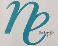 Catálogo tipográfico: Baskerville.