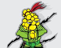 Samurai corn / Mazorca Samurái