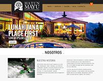 DISEÑO Y DESARROLLO   WEB DEL HOTEL HATUN MAYU
