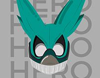 Hero - Boku no Hero arte digital