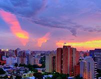 Pintura Digital de la Ciudad de Maracaibo