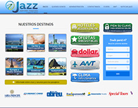Website JAZZ Operador Mayorista