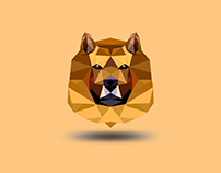 Chow Chow LowPoly Art Dog V2