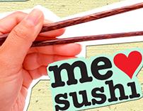 Flyer Redes Sociales Sushi