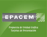 EPACEM - Unidad Gráfica y Tarjetas de Presentación