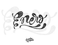 Un mes, un lettering ♥ Proyecto 2017