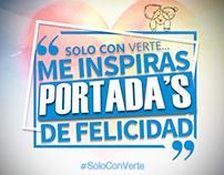 Campaña Gráfica de San Valentin para Venevision