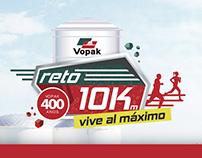 VOPAK | Reto Carrera 10K & Caminata 5K