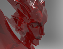 red crystal demon