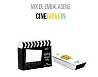 Mix de embalagem para o Cine Drive-in.