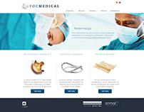 FOC Medical - Diseño y desarrollo de Sitio Web