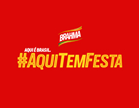 Brahma #AquiTemFesta