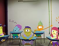 A aula