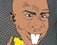 Cartoon Ronaldo