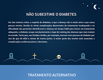 Layout site Diabetes