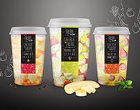 Frutas no pote  I  Packaging