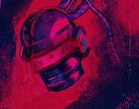 Starboy - Daft Punk Artwork