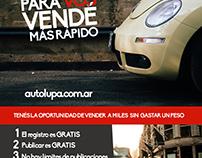 Diseño de folleto digital para AutoLupa