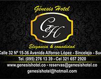 Tarjeta Genesis Hotel
