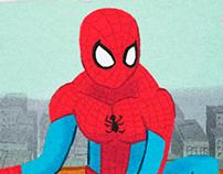 Spiderman - Ilustration for Children