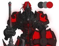 Pintura Digital Black Knight