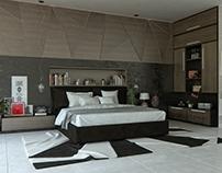 Bedroom - B&W