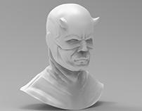 DareDevil 3D bust