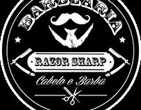 projeto feito para a barbearia razor sharp