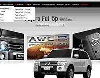 Produção de conteúdo para portal da Mitsubishi Motors