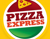 Identidade Visual Pizza Express