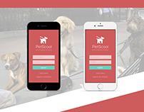 PetScool- Diseño App Móvil