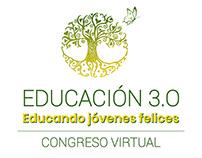 Educacion 3.0 - Logo desing