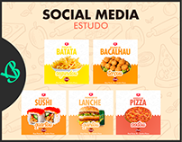 SOCIAL MEDIA DE ESTUDO - RESTAURANTE