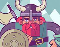 The Brave Viking