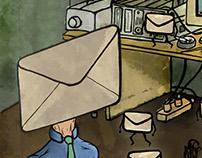 """La vuelta al mes en treinta ilustradores"""" Diciembre 201"""
